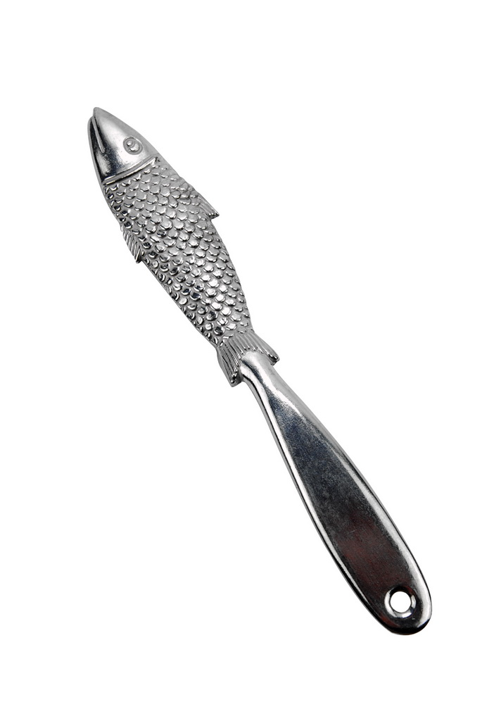 Alum. Fish Scale Utensil Teflon